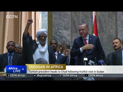 Turkish president heads to Chad following fruitful visit in Sudan
