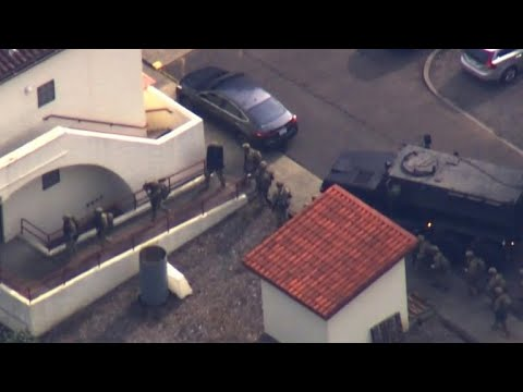 Three hostages and suspect dead after standoff at veterans facility