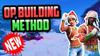 **NEW** OP BUILDING METHOD!!! + ITUNES GIVEAWAY | Fortnite Mobile Clips Evolved
