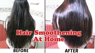 Hair Smoothening at Home. Get silky soft smooth hair   hair mask for dull frizzy damaged hair