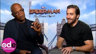 SPIDER-MAN: Jake Gyllenhaal & Samuel L. Jackson's dating advice for Peter Parker