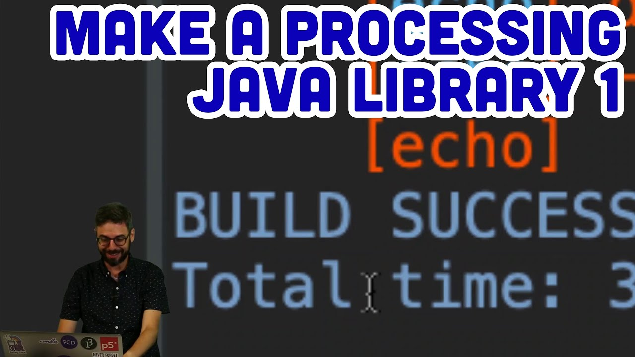 How to Make a Processing (Java) Library Part 1