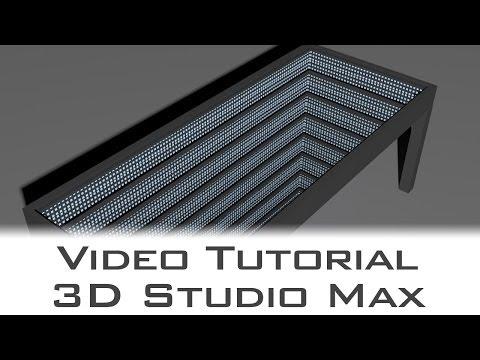 Tutorial- Autodesk 3D Studio Max - Modelling Infinite Table