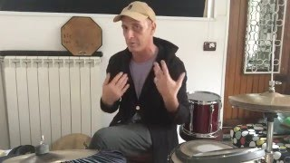 Fast Right Hand Technique #2 for Cymbal and Hi-Hat by Max Valentini