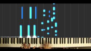「Isshuukan Friends」OP - Niji no Kakera (piano solo) // Natsumi Kon