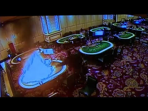 Philippines Manila casino shows video of gunman's attack