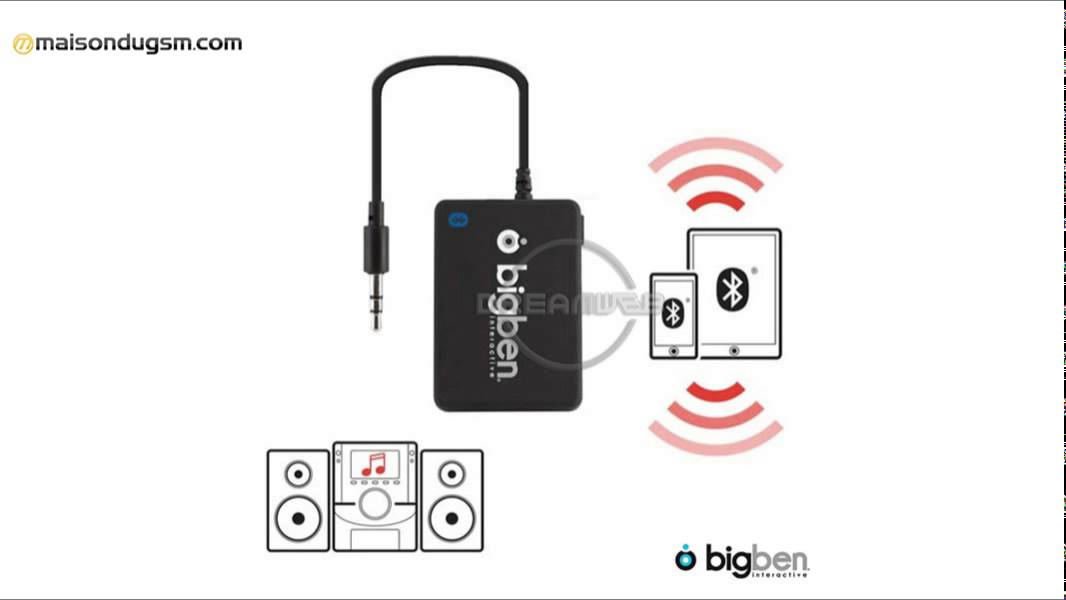 adaptateur bluetooth sur prise jack big ben smart youtube. Black Bedroom Furniture Sets. Home Design Ideas