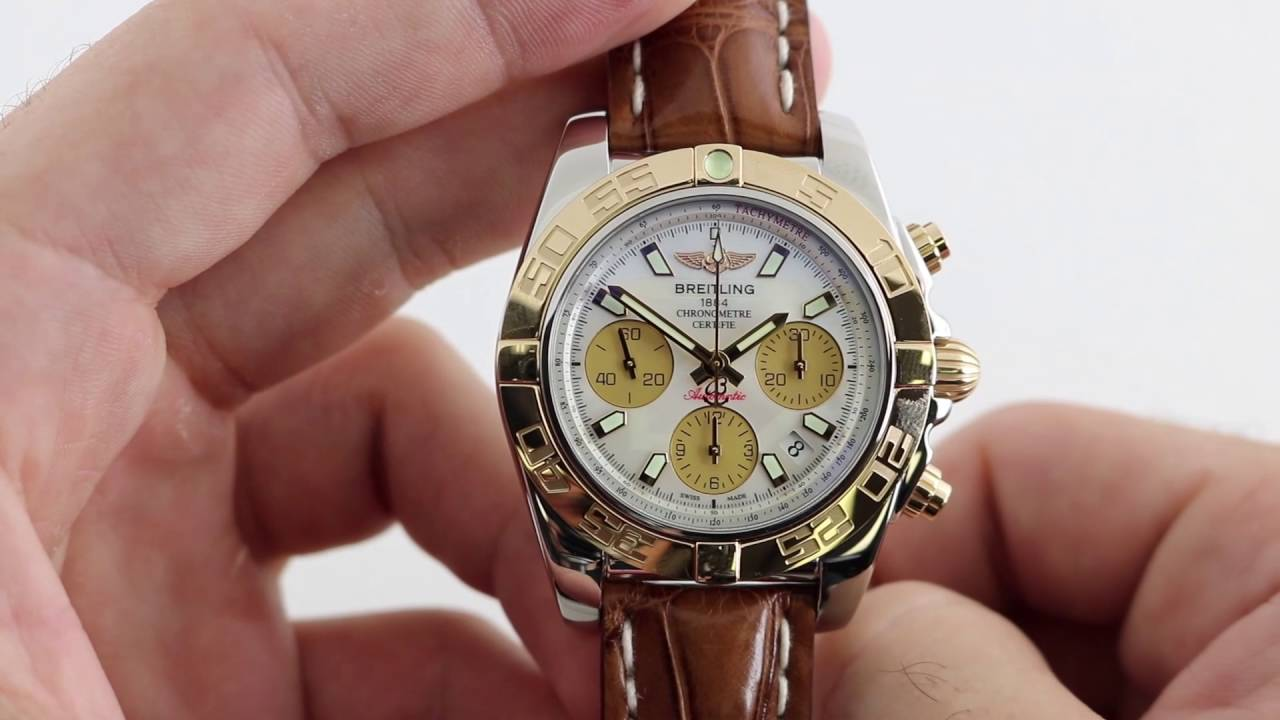 3da435655710 Pre-Owned Breitling Chronomat Airborne 41 Luxury Watch Review - YouTube