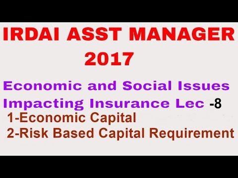 Economic and Social Issues Impacting Insurance Economic Capital Lec 8