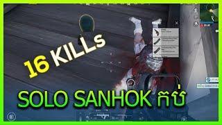 PUBG Mobile Solo 16 Kills Sanhok Mab Gameplay #15