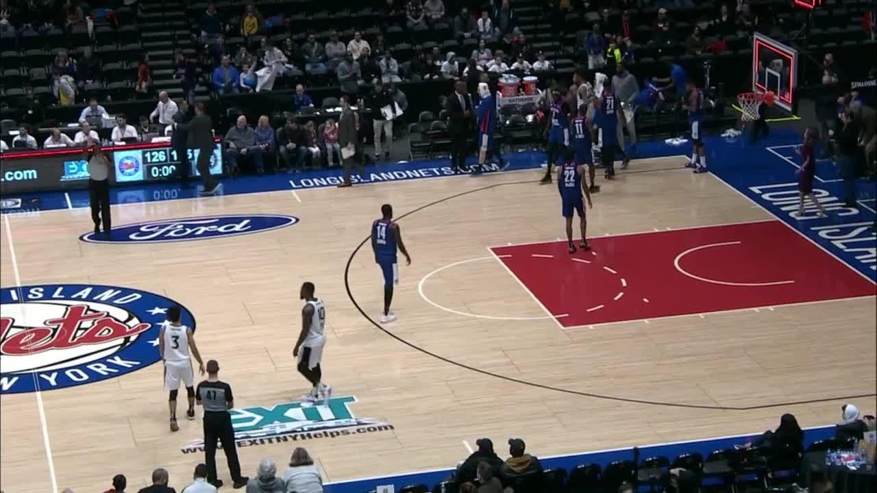 0a3d267d0c4 Long Island Nets vs. Raptors 905 - Condensed Game - YouTube