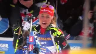 Благородство ! Белорусская биатлонистка Дарья Домрачева, уступила второе место итальянке.