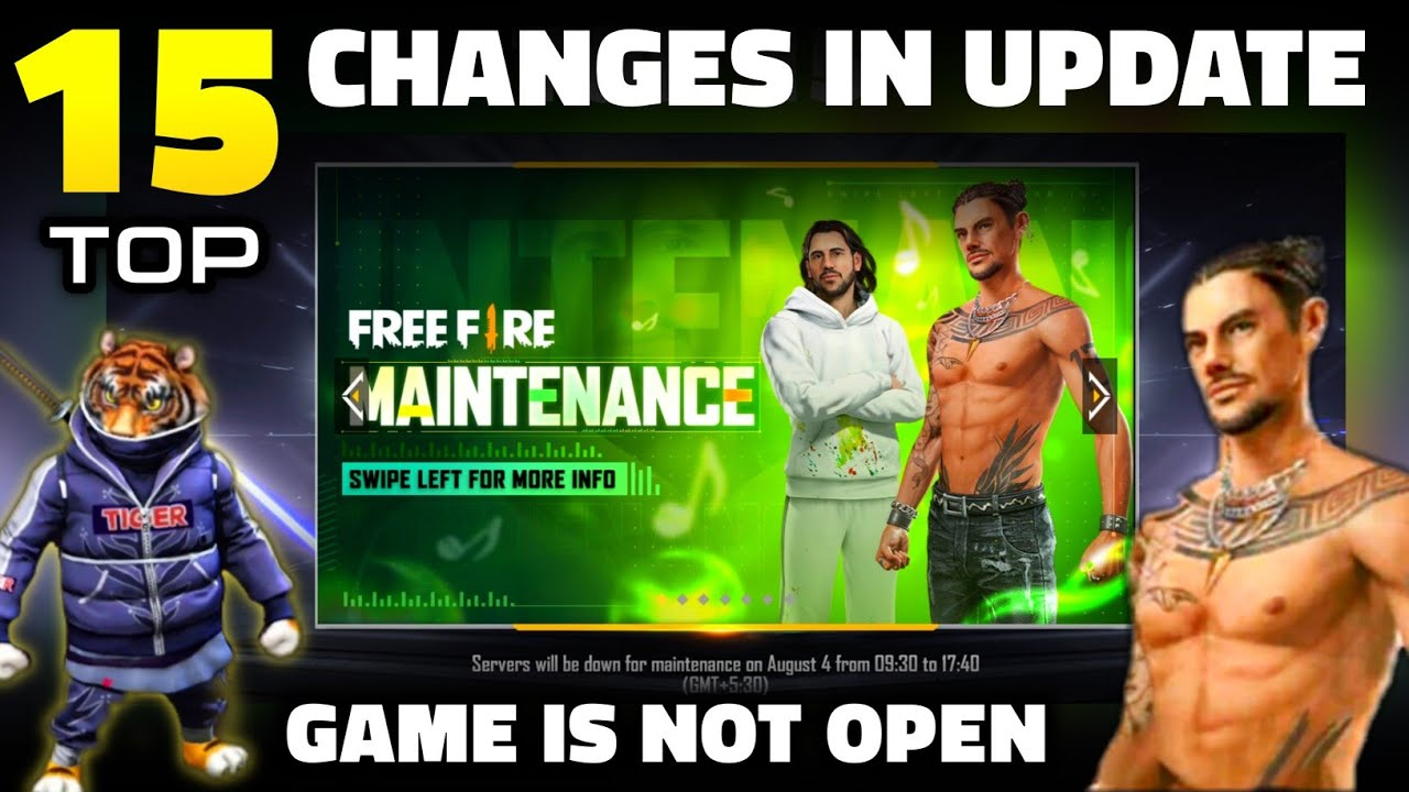 FREE FIRE NEW UPDATE | GAME IS NOT OPENING | FREEFIRE OB29 UPDATE FULL DETAILS - GARENA FREE FIRE