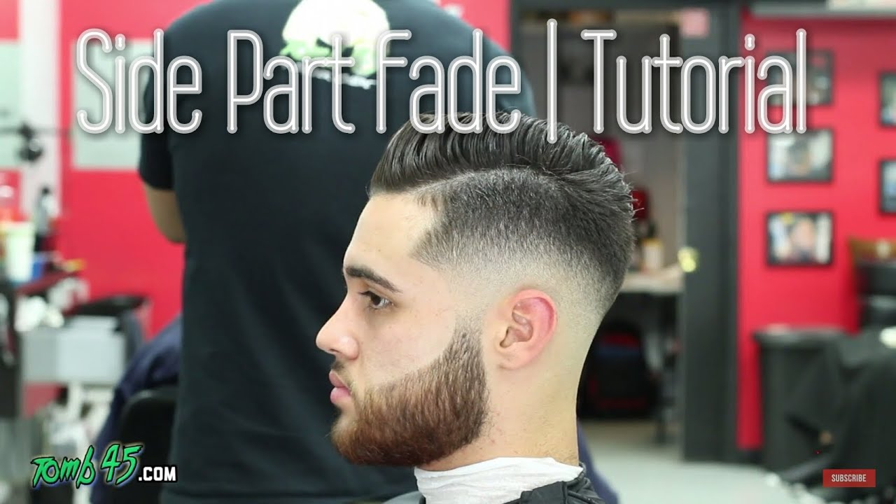 Sergio Ramos Hair How To Do Side Part Fade Haircut With Razor