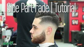 Sergio Ramos Hair | How to do Side Part Fade Haircut with Razor Beard!