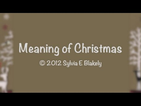 Meaning of Christmas (New Gospel Song)
