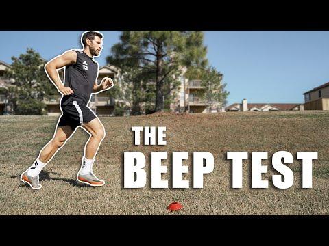 Pro Footballer Attempts The Beep Test!