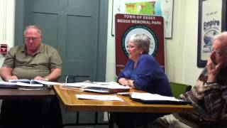 Town board meeting 04/09/15 part 2