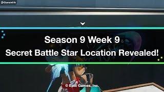 Fortnite - Temporada 9 Semana 9 Ubicación Secreta de la Estrella de Batalla