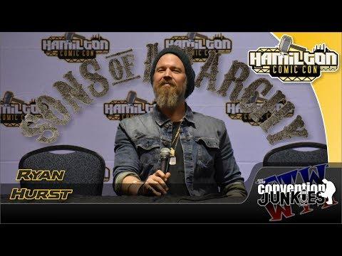 Ryan Hurst Walking Dead, Sons of Anarchy Hamilton Comic Con 2018 Full Panel