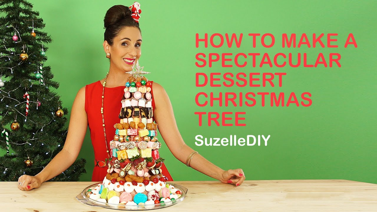 How To Make A Spectacular Dessert Christmas Tree Youtube