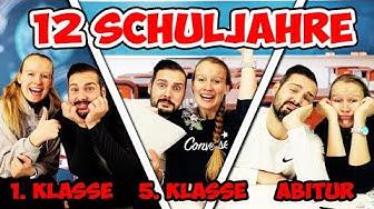 12 SCHULJAHRE mit Kathi & Kaan - Die Highlights von der Grundschule bis zum Abitur früher vs. heute
