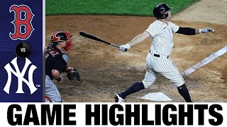 Homers back Montgomery in 5-1 win | Red Sox-Yankees Game Highlights 7/31/20