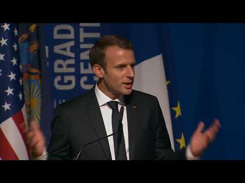 President Macron at the Inauguration of the French Dual Language Fund (Speech - English Version)
