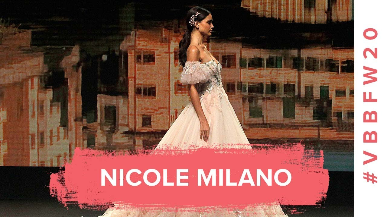 Nicole Milano | Barcelona Bridal Fashion Week 2020 | Full Show