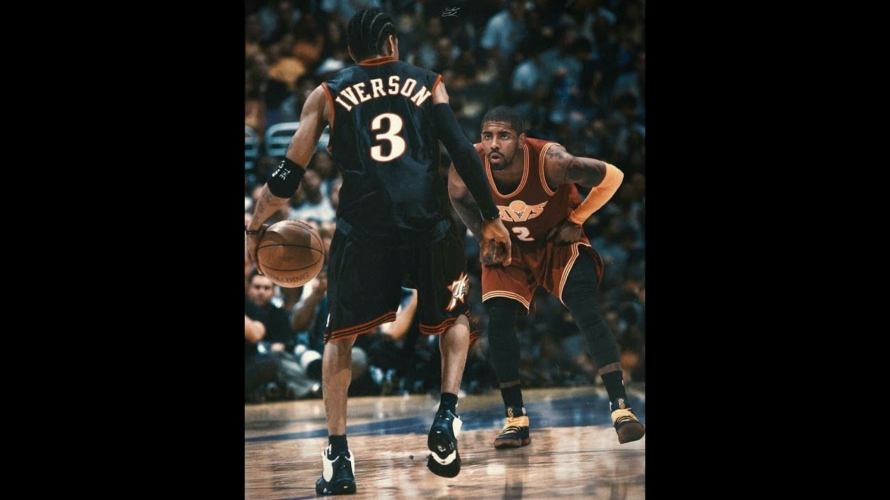 Allen Iverson Vs Kyrie Irving The Monster Of Crossover HD