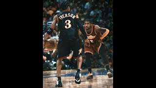 Allen Iverson Vs Kyrie irving ●The Monster Of Crossover ●ᴴᴰ