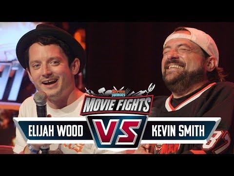 Kevin Smith vs Elijah Wood! - CELEBRITY MOVIE FIGHTS LIVE!