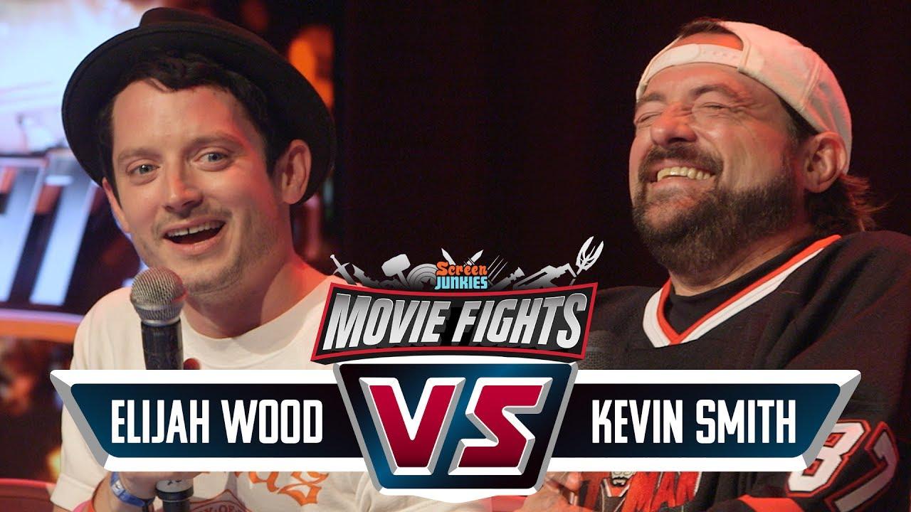 Kevin Smith vs Elijah Wood CELEBRITY MOVIE FIGHTS LIVE