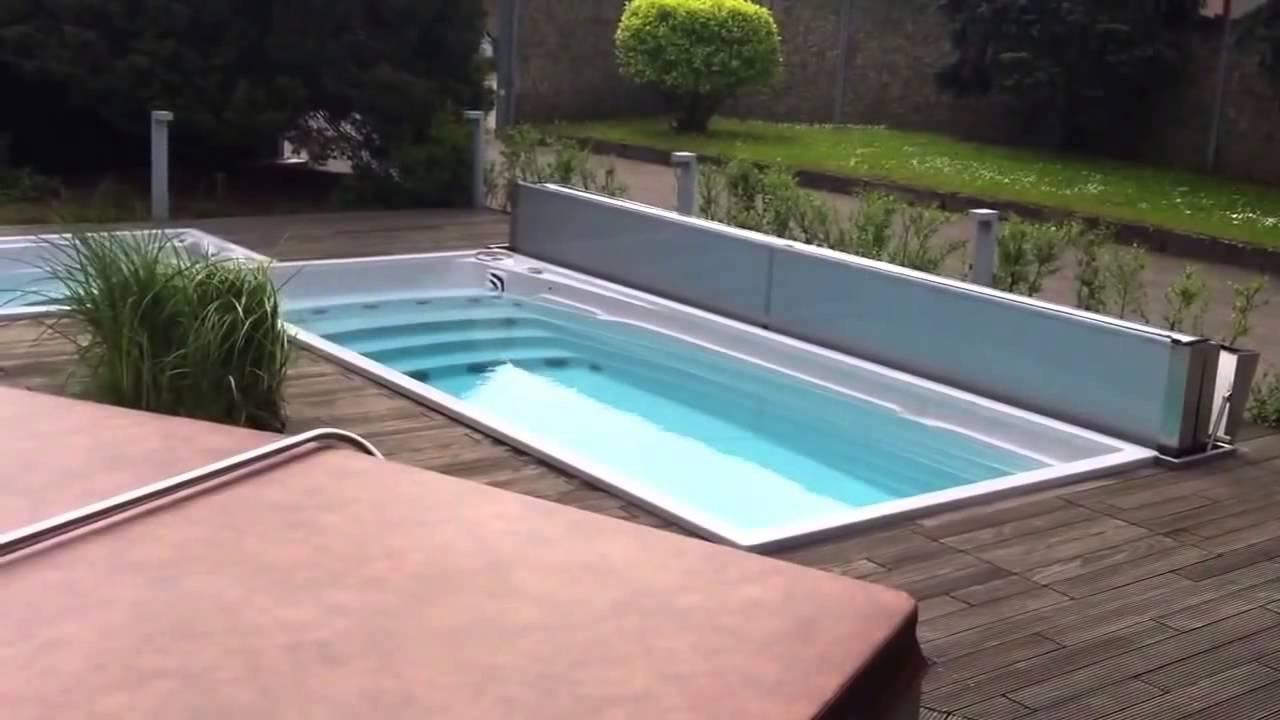 Topsun Usspa Swim Spa Vol Automatische Cover Youtube