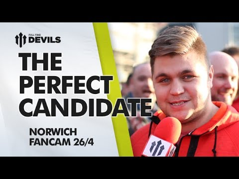 Van Gaal: Perfect Candidate | Manchester United 4-0 Norwich City | FANCAM
