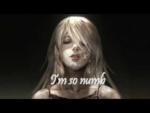 Nightcore - Numb (Lyrics) | By Carlie Hanson
