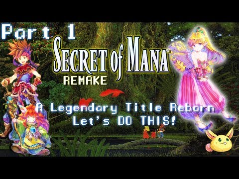 [PC60fps]Secret of Mana: Remake[Part 1] Our Adventure Begins now! Live stream Archive