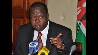 CS Matiang'i to visit fire arms licensing board as verification of civilian arms deadline nears