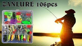 Набор искусственных приманок для рыбалки