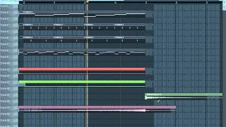 W&W - Moscow (Main Lead FL Studio 10)