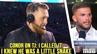 UFC Pros react to TJ Dillashaw\'s failed USADA test; RDA vs Lee; Rockhold moves to LHW; Dana on Conor
