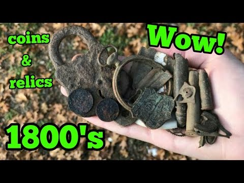 AT Pro and Ace 400 break into the 1800's with coins and relics! Crazy!