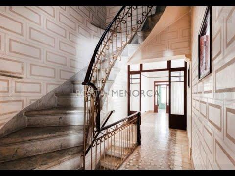 Maison d'style moderniste au coeur de Mahon, Minorque