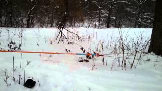 Тест динамической  стропы Такелаж(Растяжение., 2014-01-05T10:12:38.000Z)