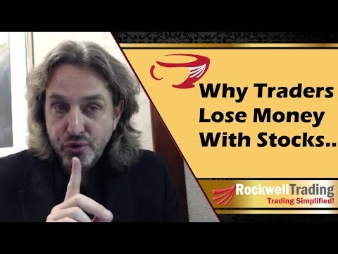Why traders lose money with stocks