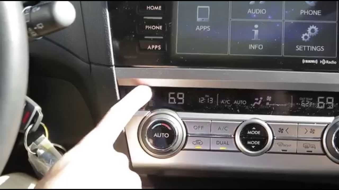 Brooklyn Park Subaru >> 2015 Subaru Outback/Legacy Clock Setting | Daylight ...