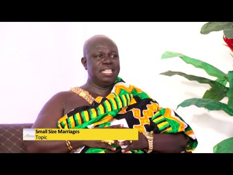 Small Size Marriages in COVID-19 - Awaresem on Adom TV (18-1-21)