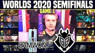 DWG vs G2 Game 1 WORLDS 2020 SEMIFINALS - DAMWON vs G2 ESPORTS Game 1 WORLDS 2020 SEMIFINALS