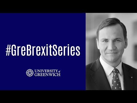 Radoslaw Sikorski - EU: The empire Britain has refused to rule