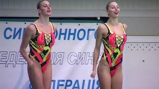 Открытый Кубок Украины по синхронному плаванию, день 1-й